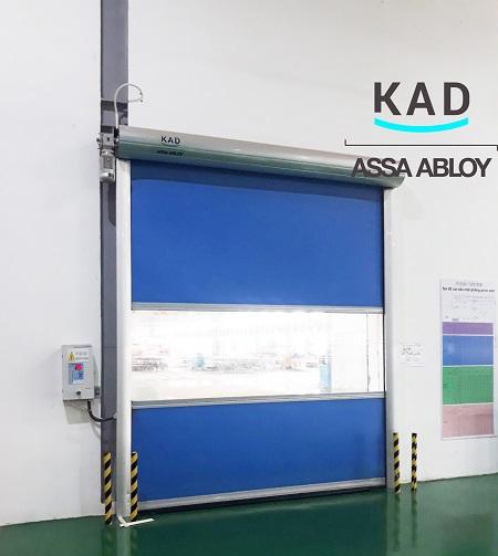 cửa cuốn tốc độ cao chống bụi cho kho và phòng sạch