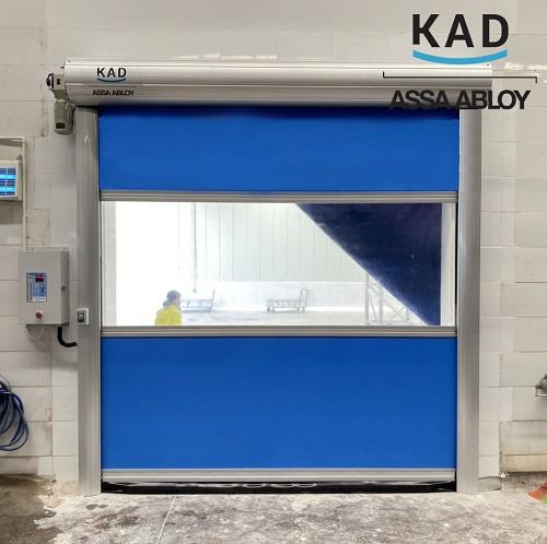 cửa cuốn màn nhựa pvc ngăn bụi và giảm ồn , hoạt động tốc độ cao
