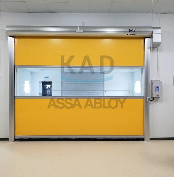hướng dẫn sản xuất và lắp đặt cửa cuốn nhanh tốc độ cao pvc của KAD